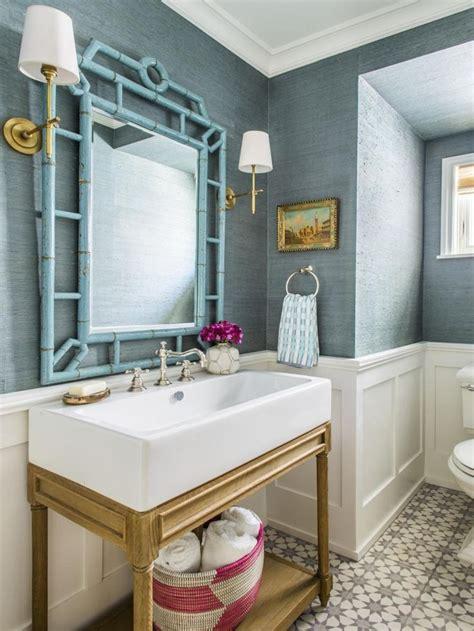 wallpapered bathrooms ideas best 25 grass cloth wallpaper ideas on