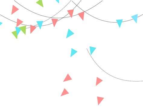Winter Birthday Party Decorations - party banners clipart 54