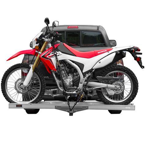 motocross bike rack hitch mounted aluminum motorcycle dirt bike carrier