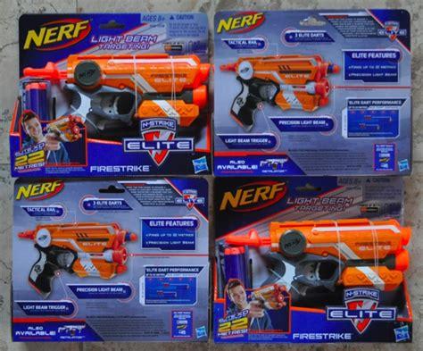 Nerf Elite Firestryke Blaster Pistol Mainan jual nerf elite firestryke blaster toysgraphy