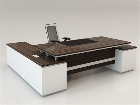 Best Modern Desk Home Office Furniture Contemporary Design Of Work Desk Idea With Within Glass Top Executive Desk