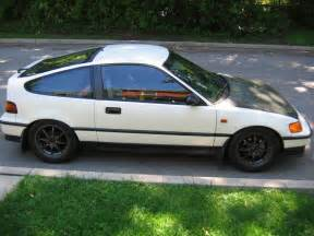 Honda Civic 1991 1991 Honda Civic Crx Crx Picture Exterior
