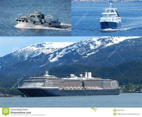 alaska fishing boat processors boat collage editorial stock image image 52241379