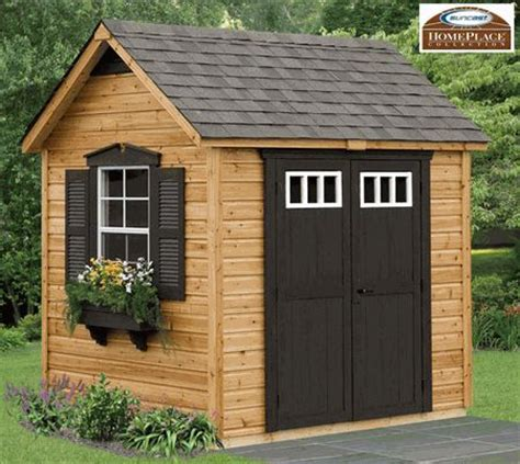 Garden Shed Flooring Kits by Legacy Cedar Storage Shed Kit 8 X 6 Floor Included