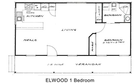1 bedroom granny flat floor plans floor plan house plans 30459