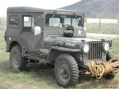 first willys jeep 1951 us army jeep willys military original overland jeep