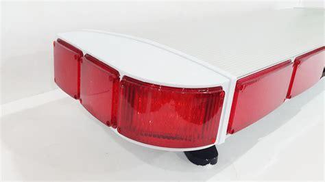 Lu Rotator Tbd 5000 Merah tbd 5000 lightbar led strobo sirine