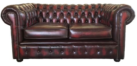leather chesterfield sofa ebay uk chesterfield 100 genuine leather two seater sofa