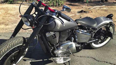 Schwarz Matt Motorrad by Brushed Steel Matte Black Motorcycle Vinyl Wrap