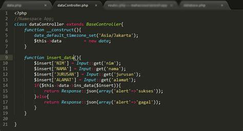 membuat website laravel membuat web service dengan php laravel wira setiawan