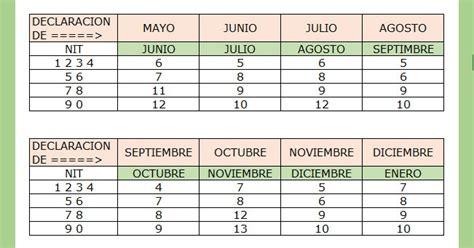 Calendario Contador Contador Publico Calendario Tributario Retencion Cree A 209 O