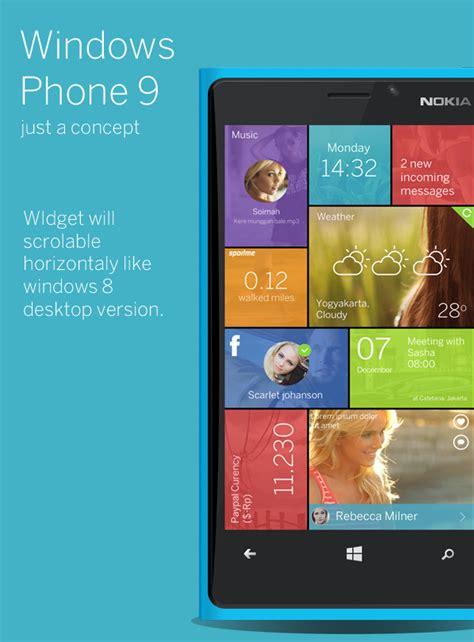 Windows Phone 9 Concept Finally Brings a Decent Shortcut