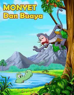 dongeng fabel monyet  buaya cerita dongeng indonesia