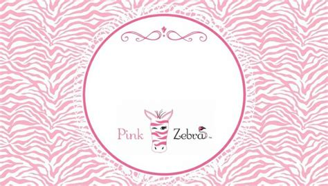 139 Best Pink Zebra Images On Pinterest Pink Zebra Sprinkles Direct Sales And Pink Zebra Party Pink Zebra Business Card Template Free
