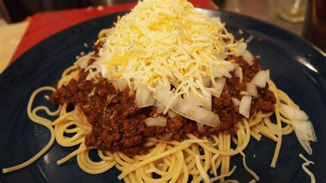lsv chili things i put in my mouth keith s skyline chili chili dog