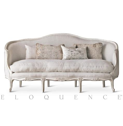canapes sofa eloquence seraphine canape sofa in gesso oyster kathy