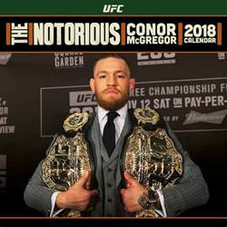 Calendã Ufc Ufc Conor Mcgregor Calendars 2018 On Abposters