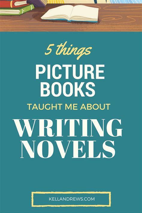 picture books about writing five things writing picture books taught me about novels