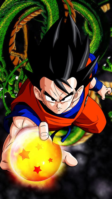 hd goku dragon ball wallpaper  android