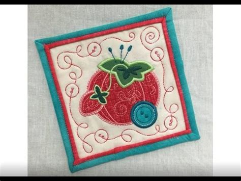 embroidery applique tutorial mini applique quilts embroidery tutorial by oesd