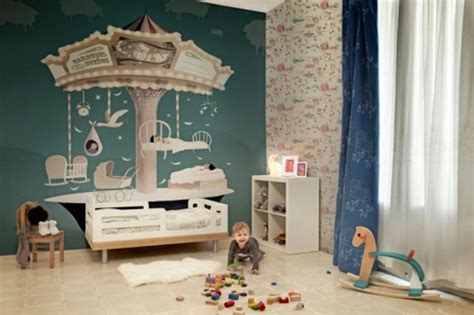 decoracion en paredes para ninos #1: onceuponatimekidswallpapers1554x369.jpg