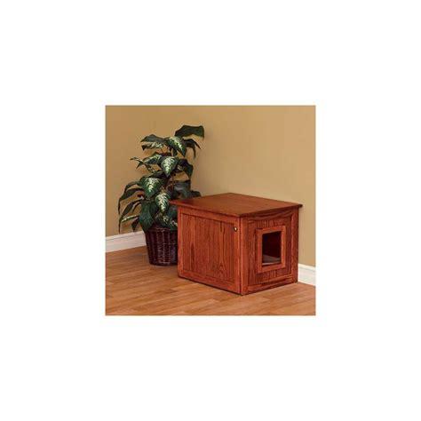 Cabinet Medium by Amish Made Cat Litter Box Cabinet Medium