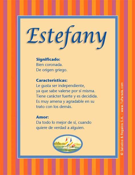 imagenes oniricas significado estefany significado del nombre estefany nombres