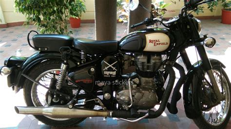 modified bullet classic 350 royal enfield classic 350 sticker modification gallery