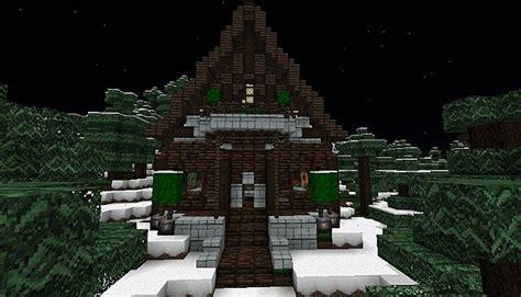 Minecraft Winter Cabin by Winter Cabin Minecraft Project