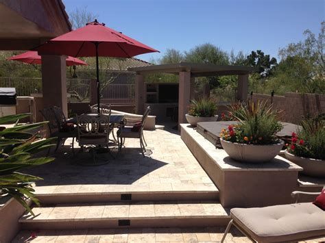 backyard landscaping phoenix phoenix landscaping designs outdoor kitchens and pavers