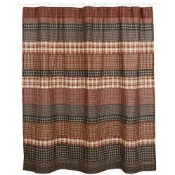 country primitive beckham shower curtain rustic farmhouse