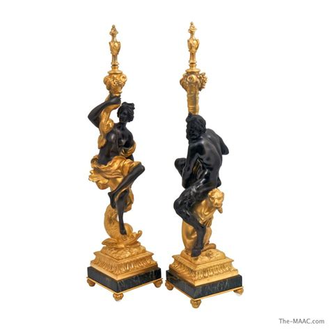 candlestick ls for sale a pair of gilt bronze pair of small gilt bronze rococo
