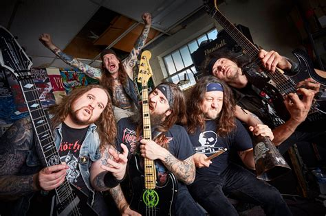 Mucipal Waste with municipal waste s new song quot slime and