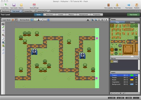 tutorial construct 2 tower defense stencyl tower defense tutorial follow the path