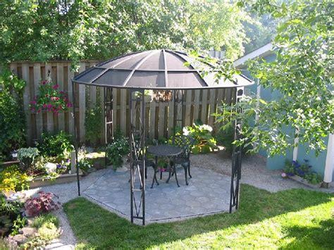 backyard satellite dish you have to see satellite gazebo by gardendiva