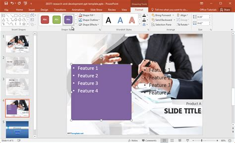 powerpoint template research free research and development powerpoint template