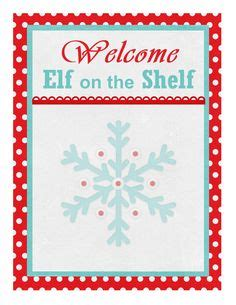 elf on the shelf printable welcome 1000 images about elf on the shelf on pinterest elf on
