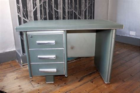 vintage industrial metal desk 1950 s vintage industrial metal desk storage furniture