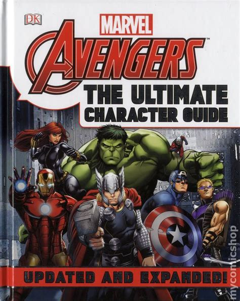Marvel The Ultimate Character Guide Updated Expanded the ultimate character guide hc 2015 marvel updated and expanded edition comic books