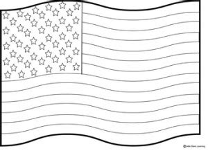 small american flag coloring page th of july flag day quotes quotesgram