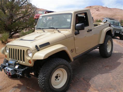 jeep truck conversion 2007 jeep jk truck conversion jt a photo on