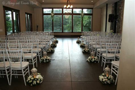 Wedding Aisle With Lanterns by White Elegance In Your Wedding Always Forever Florist