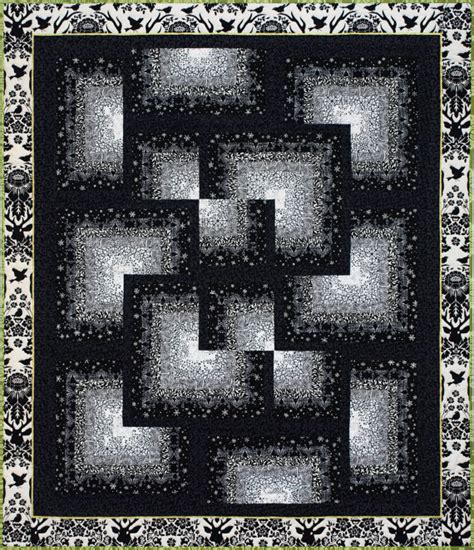 black and white bargello quilt pattern out of the shadows quilt pattern by emma how saguita