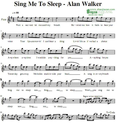 alan walker sing me to sleep reggae 2016 youtube alan walker sing me to sleep长笛谱 找教案