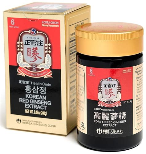 Korean Ginseng Extract korean ginseng extract 240g korean ginseng extract korea ginseng corp