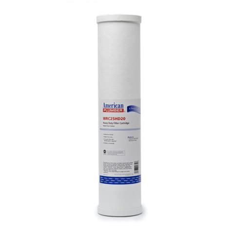 Plumbing Filters by American Plumber Wrc25hd20 Whole House 20 Inch Heavy Duty Water Filter