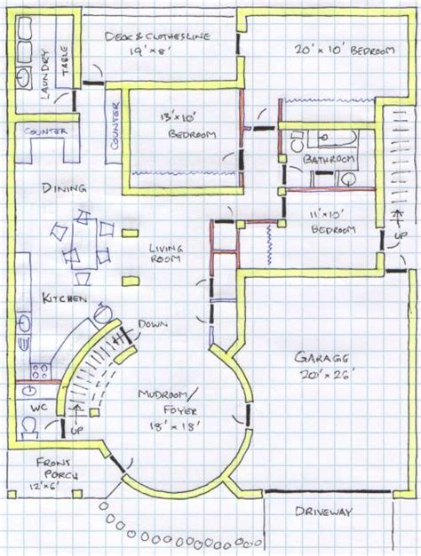 how to design house floor plan k