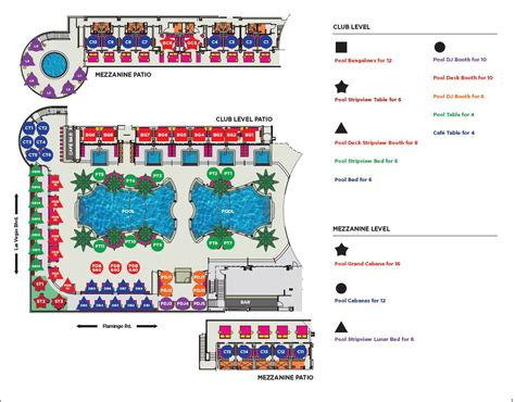 Xs Floor Plan by Drai S Beach Club Bottle Service Discotech The 1