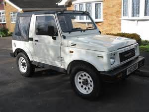 Suzuki For Sale Uk Suzuki Samurai Sj413 Folding With Mot And Tax Sold