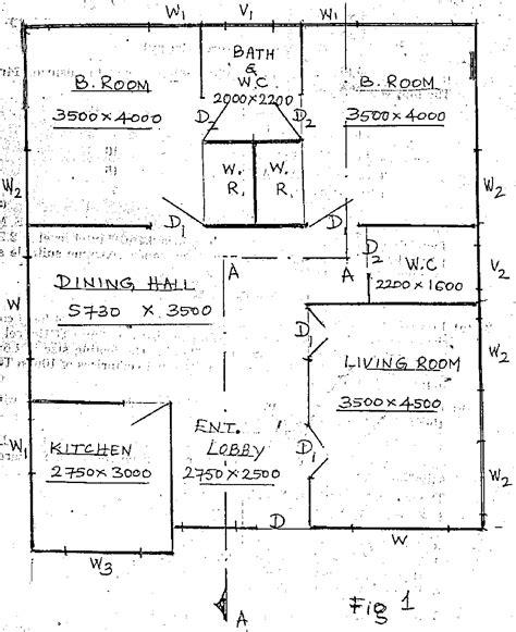line diagram of house plan bharathiar university 2007 5th sem b e civil engineering civil i question paper